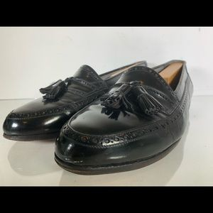 Bally Shoes - Bally 'David' Black Tassel Loafers Mens Size 9.5 D